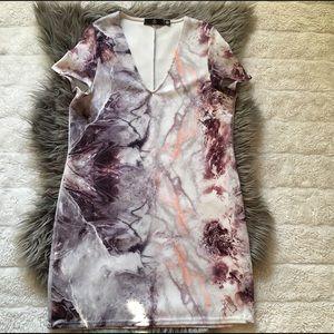 Marble T-Shirt Dress